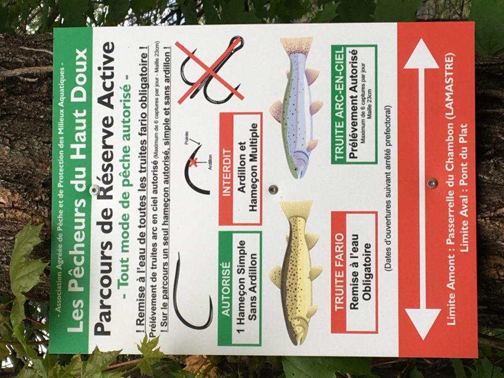 reserve active pêche lamastre pêcheurs haut doux