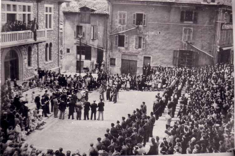 comité libeartion lamastre 11 juin 1944 mairie