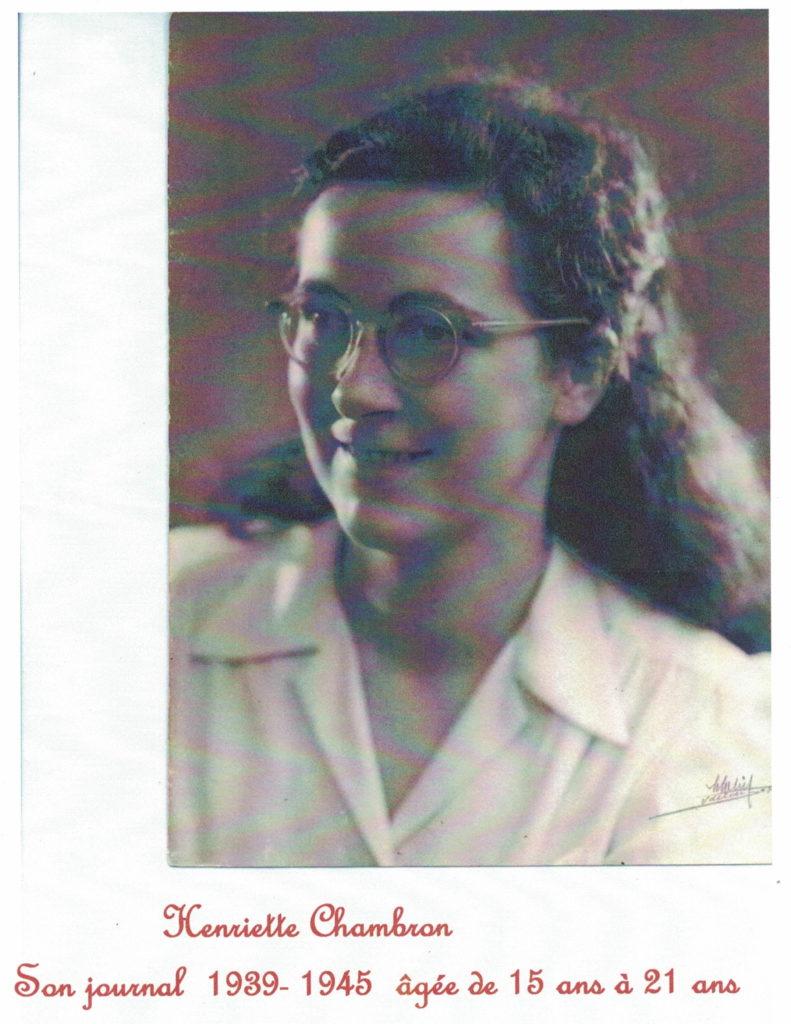 henriette chambron journal 1939 1945 lamastre