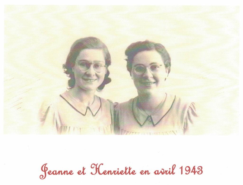 jeanne et henriette chambron 1943 lamastre