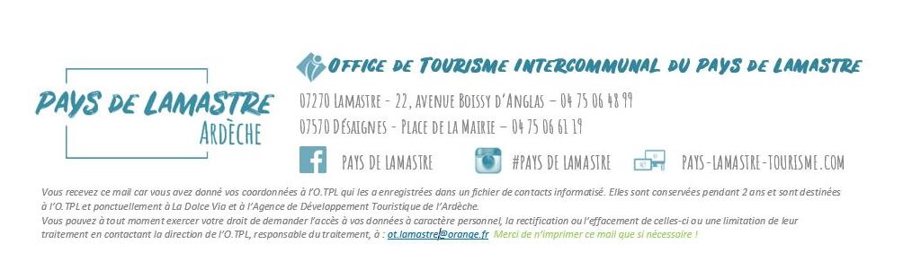 Office tourisme pay de lamastre logo
