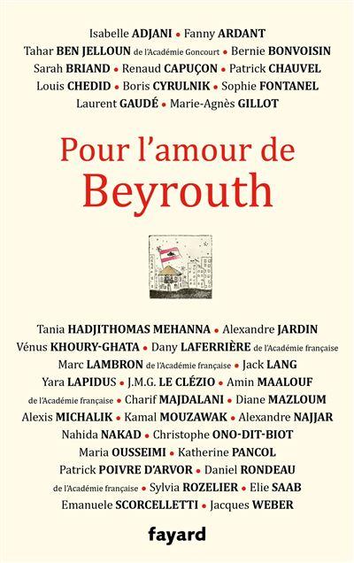 Pour l'amour de Beyrouth UPV