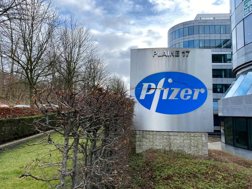 labo Pfizer belgique