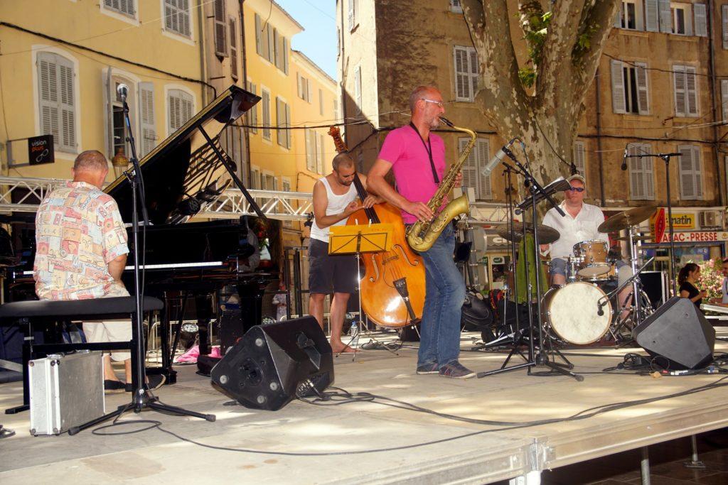 Le quartet de jazz « NO VIBRATO
