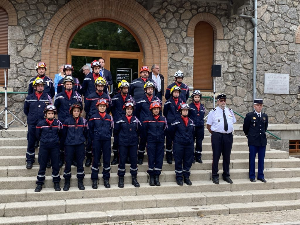 pompiers lamastre 14 juillet 21