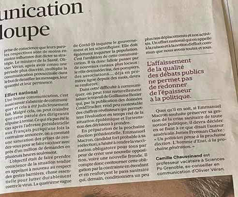 camille chaussinand les echos vaccination 2