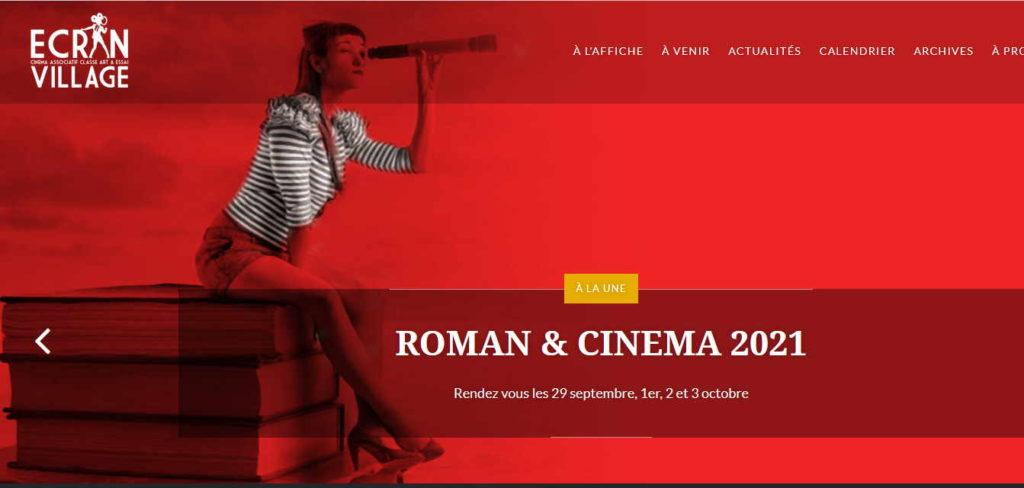 roman & cinéma vernoux ecran village 2021