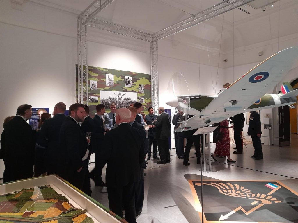 inauguration expo courage southport spitfire polonais