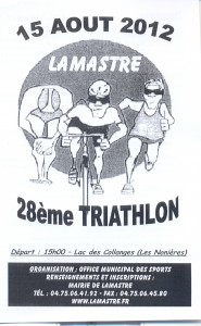 triathlon lamastre  2012