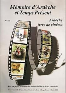 couverture memoire ardèche temps present cinéma 115