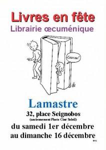 affiche librairie oecuménique  v1 2012