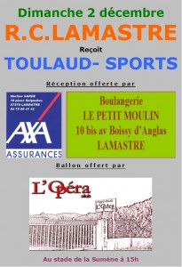 rugby lamastre toulaud