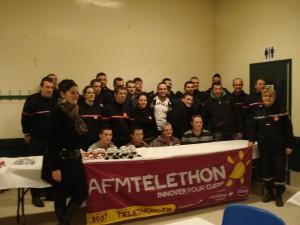 telethon 2012 Pompiers Desaignes