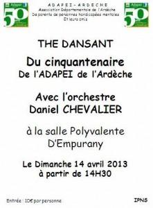 the dansant cinquantenaire adapei empurany