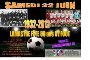 80 ans de foot à Lamastre 2013