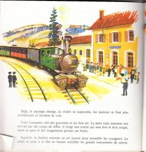 gare lamastre dessin