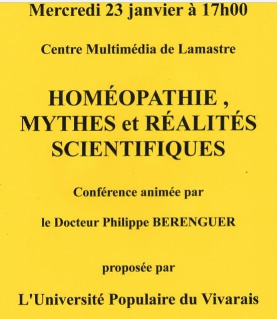 homeopathie UPV LAMASTRE BERENGUER