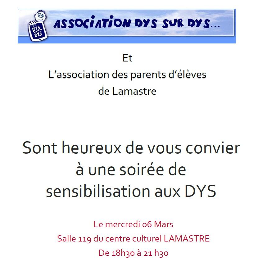 dys lamastre parents eleves