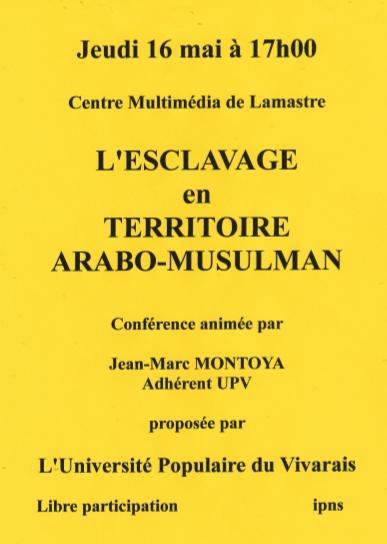 esclavage arabo musulman