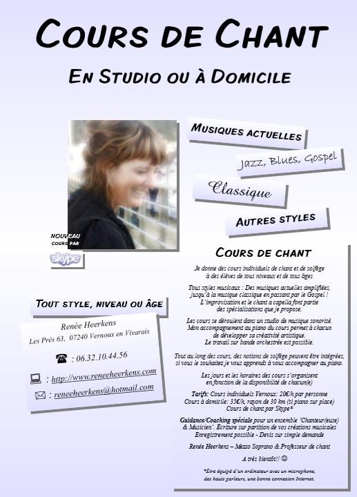 renee heerkens 2019 cours